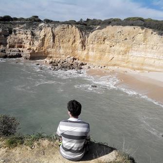 Албуфейра, Алгарве — пляжный отдых на берегу атлантического океана