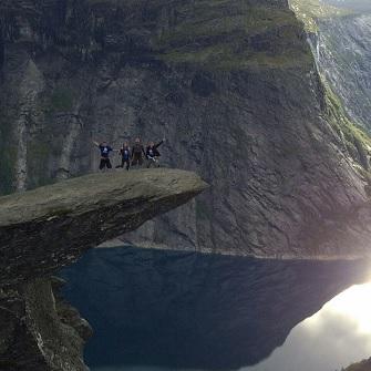 Язык тролля (Trolltunga) или волшебное путешествие в сказку, Норвегия