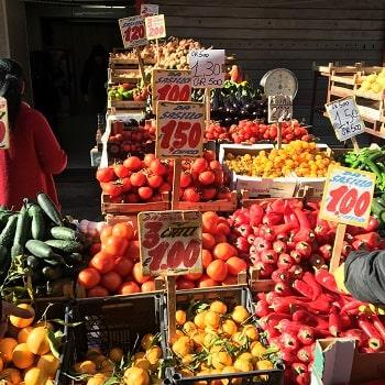 Цены в Неаполе