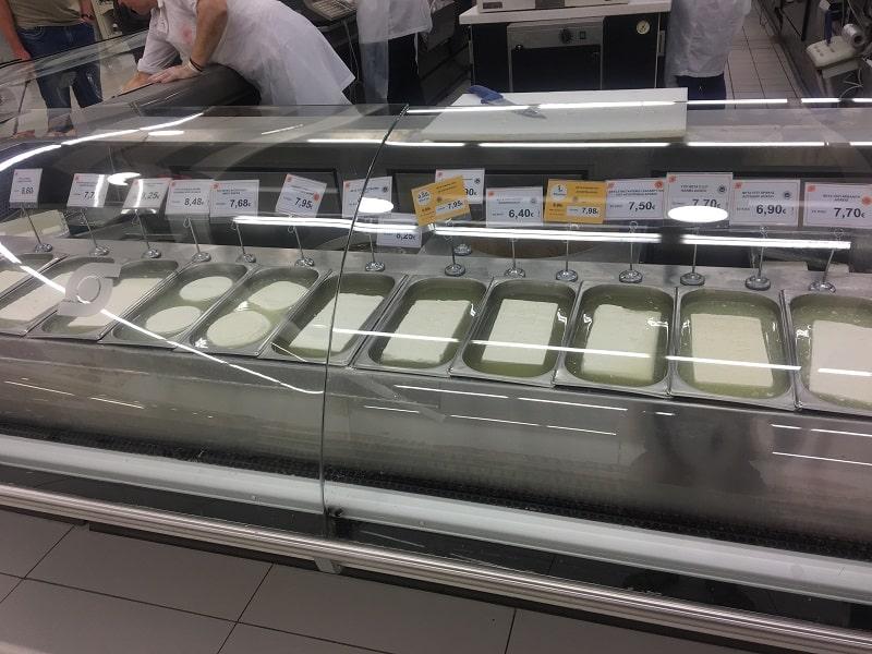 национальный Сыр в Греции