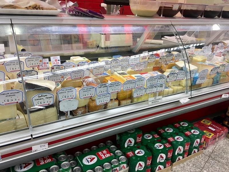 цены в греции на сыр