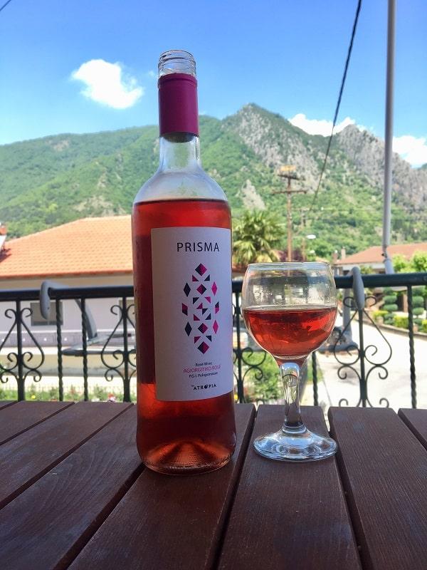 Алкоголь из греции