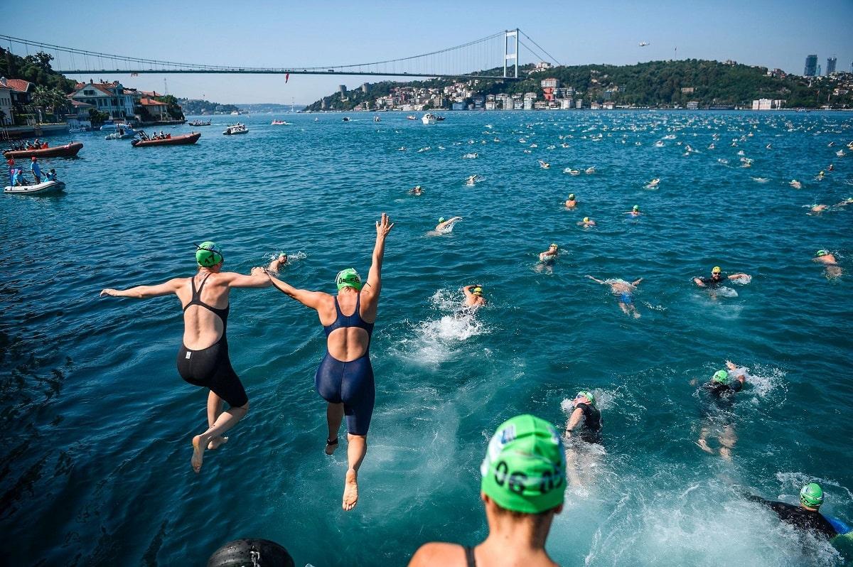 как зарегистрироваться на заплыв через Босфор